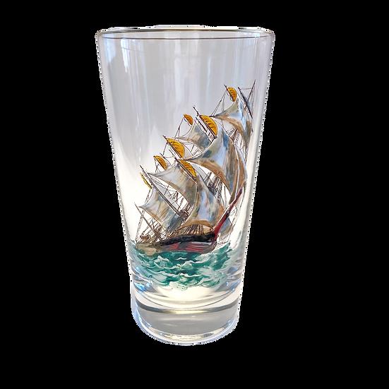 Vintage Schooner Glass