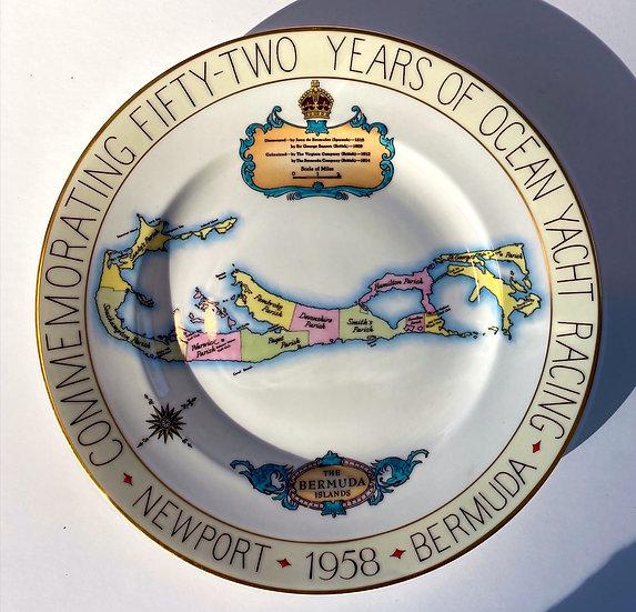 Newport to Bermuda Ocean Race Plate