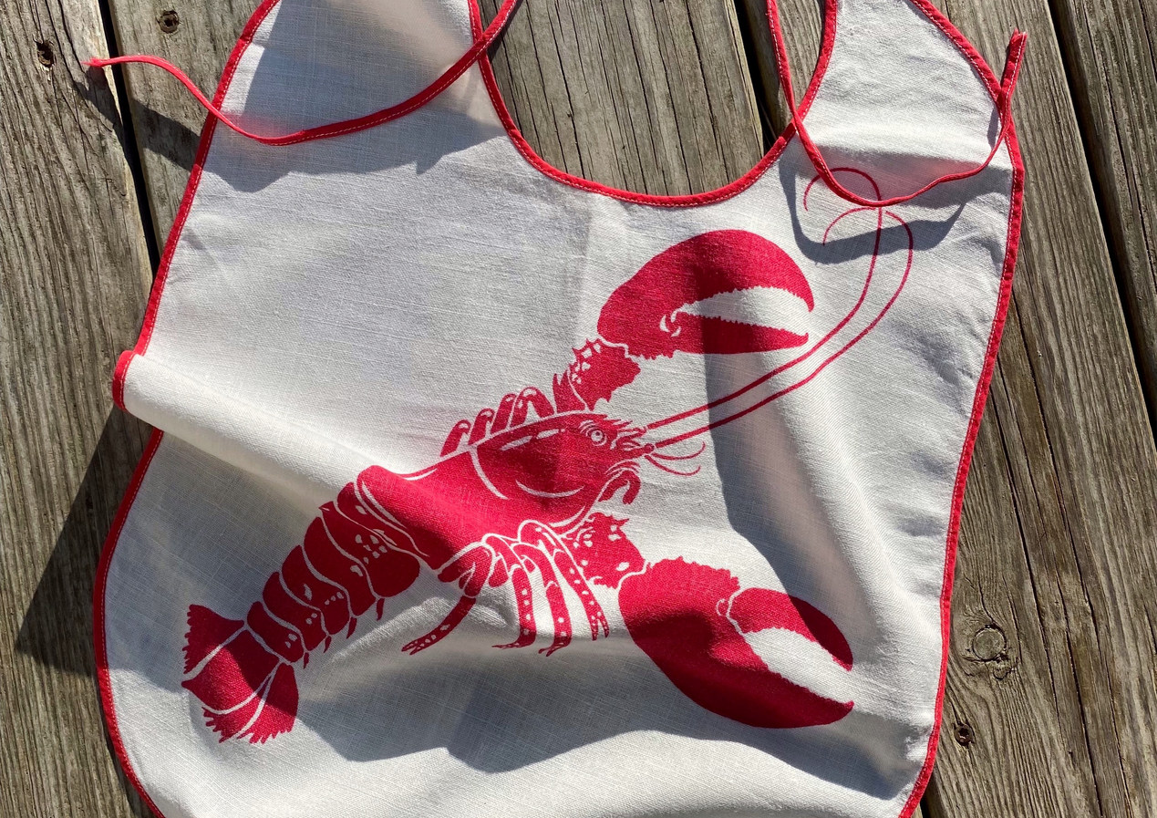 Vintage Lobster Bib