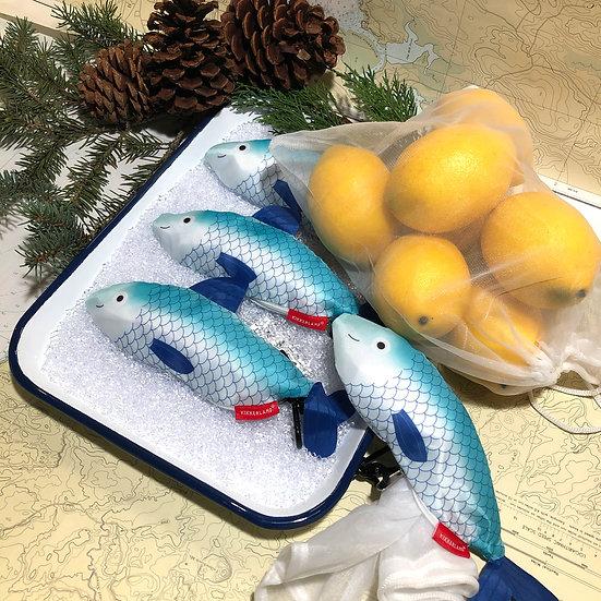 Reusable Fish Produce Bags