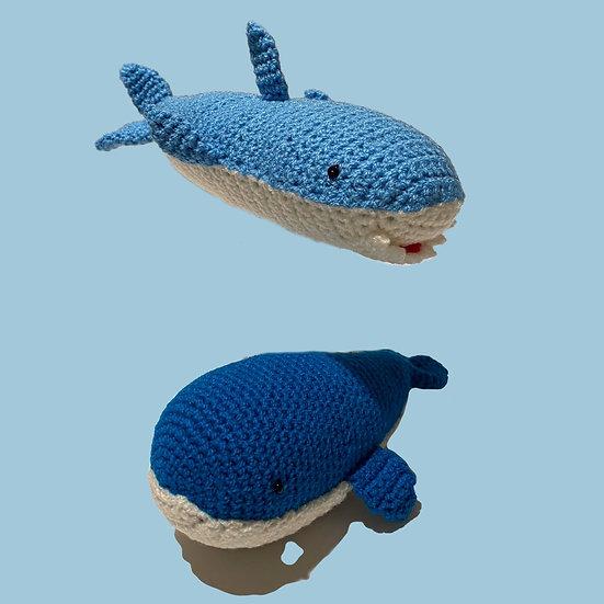 Shark & Whale Rattles