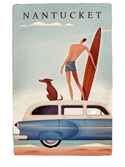 Wood Nantucket Postcard