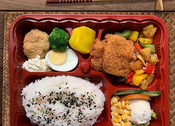 YOSHOKU BENTO SIGNATURE 4 (Fish Katsu)