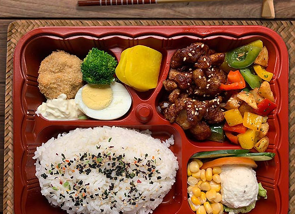 YOSHOKU BENTO SIGNATURE 1 (Chicken Teriyaki)