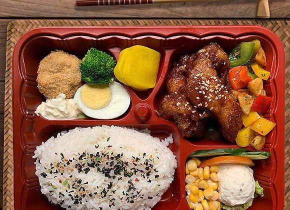 YOSHOKU BENTO SIGNATURE 2 (Shiromi Fish Teriyaki)