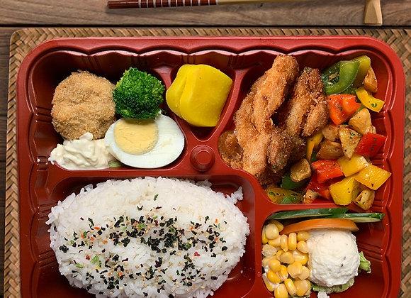 YOSHOKU BENTO SIGNATURE 3 (Chicken Katsu)