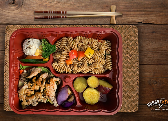 WESTERN BENTO SIGNATURE 1 (Grilled Chicken Cutlet)