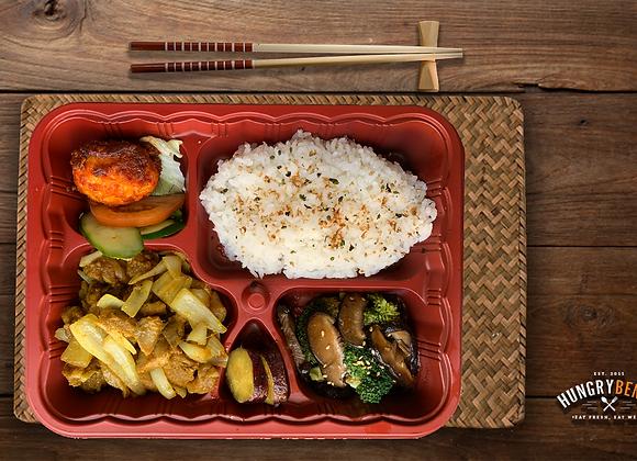 ASIAN BENTO SIGNATURE 3 (Chicken Satay Goreng)