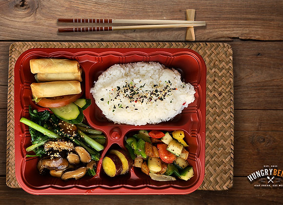 ASIAN BENTO SIGNATURE 5 (Vegetarian Bento)