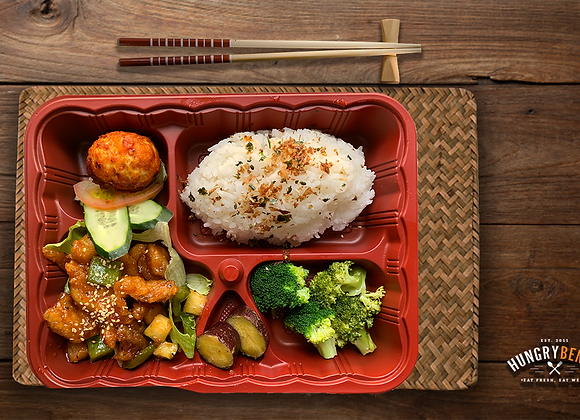 ASIAN BENTO SIGNATURE 1 (Sweet and Sour Chicken)