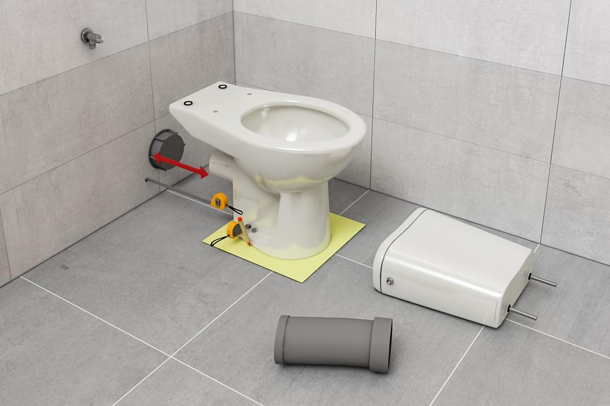Montaż toalety