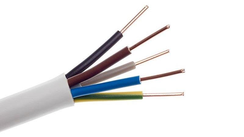 Przewód YDY 5x2,5 mm