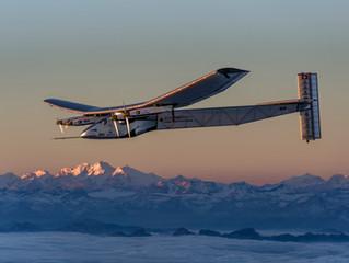 Il giro del mondo su un aereo a pannelli solari