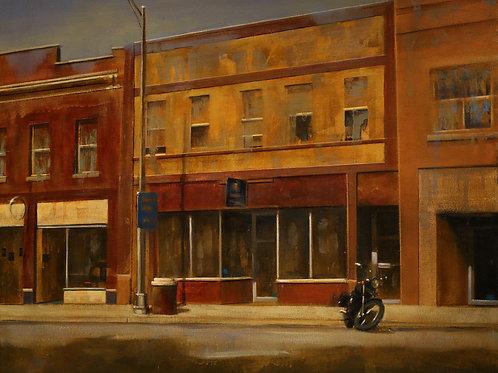 Hopper's Main Street 24x30