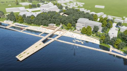 Zagospodarowanie obszaru jeziora Durowskiego w Wągrowcu