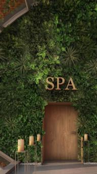 Projekt wnętrz SPA w City Park Hotel