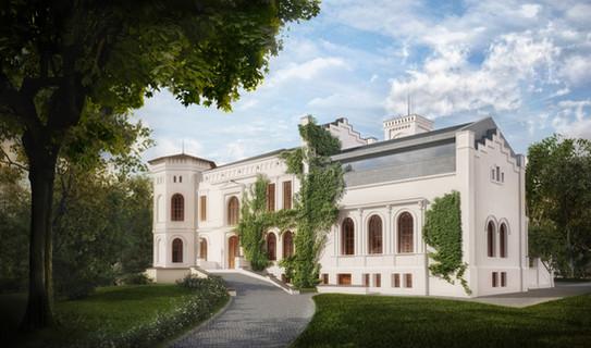 Rozbudowa Pałacu w Mełnie
