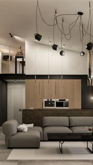Projekt wnętrz apartamentu w Poznaniu