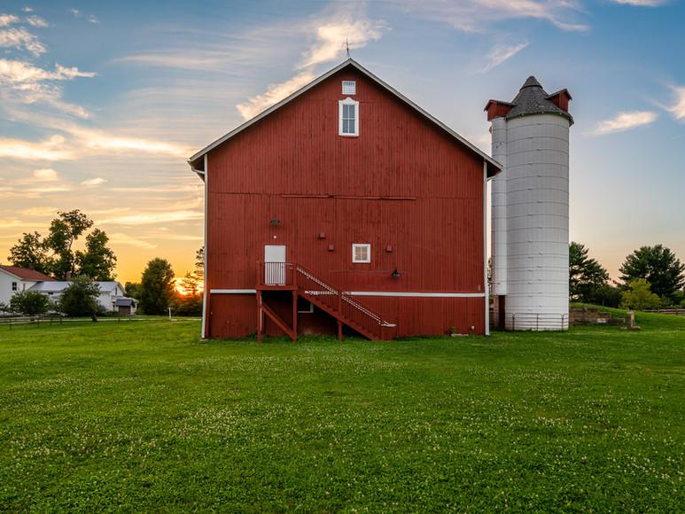 Historic Bank Barn at Case-Barlow Farm