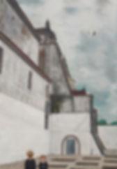 鹤飞 54.5×38cm, acrylic on canvas-.jpg