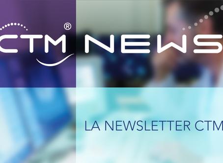 NEWSLETTER CTM - OCTOBRE 2018. Chaque mois, découvrez un résumé de l'actualité de la télémédecin