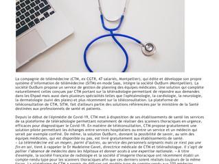 CGTR et OutBurn unis au service des établissement de santé pendant la crise du Covid19