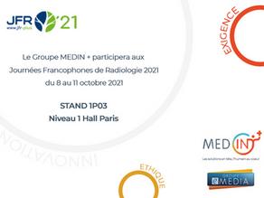 Le Groupe MEDIN + aux JFR avec e-MEDIA