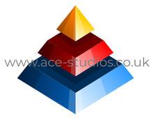 Pyramid Logo Design.