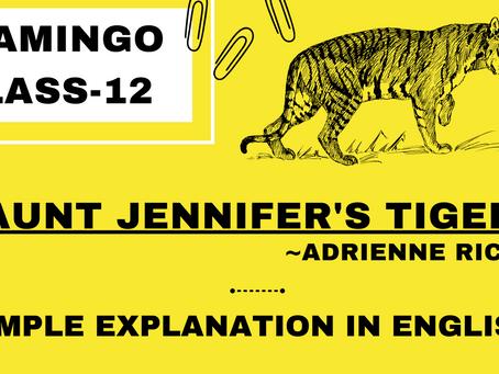 Aunt Jennifer's Tiger
