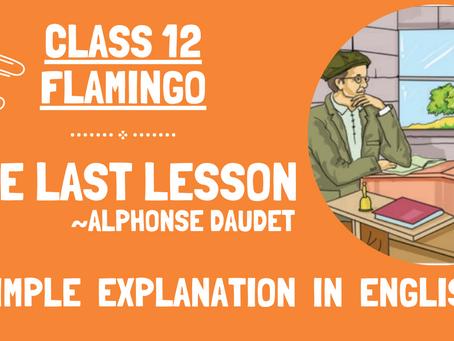 The Last Lesson