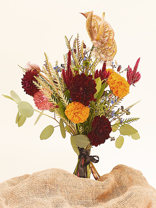 OLIVEE Floral Bouquet: Colorful