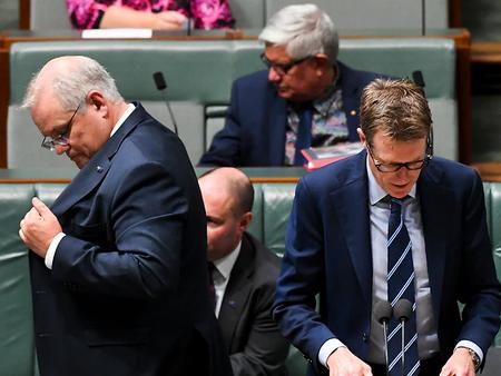호주 모리슨 정부, 26일 개각 예상...성 스캔들 관련장관 문제