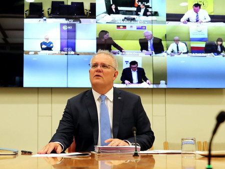 호주 총리, 12월 국경 개방…NSW 州 총리, 곧 폐쇄 완화