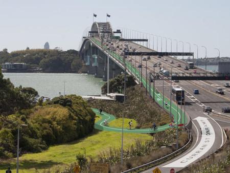 하버브릿지 한 차선…'자전거 전용도로'운영? 검토