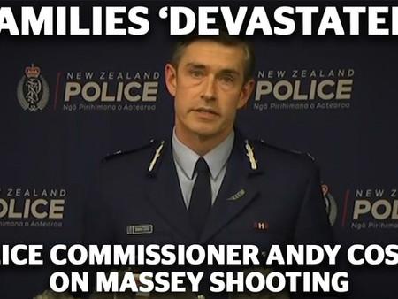 순직한 경찰관, 매튜 데니스 헌트 순경
