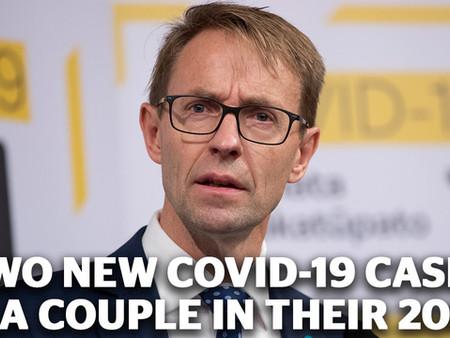 뉴질랜드, 6월20일까지...일주일 만에 5건의 신규 사례