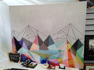 Triangles large Art