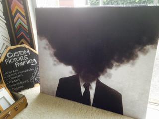 Large Art, black smoke