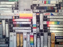 Large VHS Art