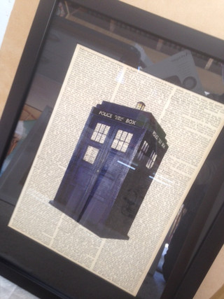 Dr who dictionary print for sale