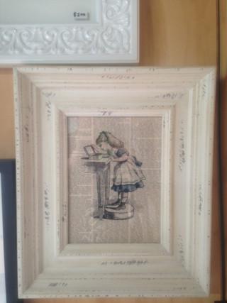 Alice in Wonderland custom frame