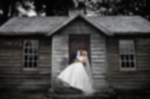 rustic house wedding photography