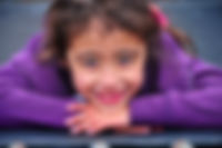 Natural Famiy portrait of girl on trampoline, waitara NewPlymouth