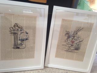 Aice in Wonderland prints