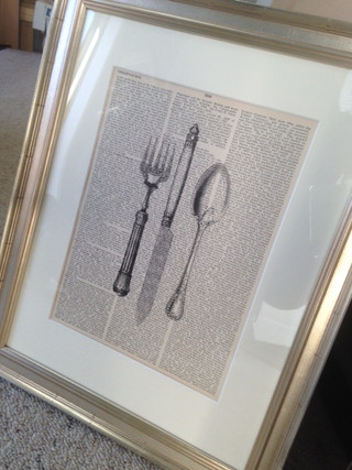 cuttlery print for sale