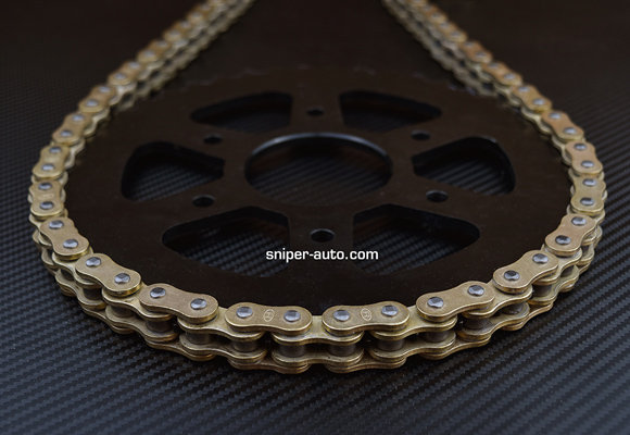 Ninja 250- Rolon GOLD-X-Ring Chain Sprocket Kit- (FREE SHIPPING)
