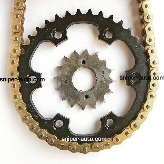 Rolon Gold O-Ring Chain Sprocket Kit for
