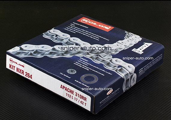 Apache 310RR- Rolon X-Ring Chain Sprocket Kit