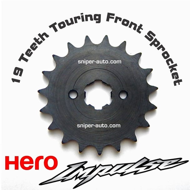 19 Teeth Touring Front Sprocket for Hero