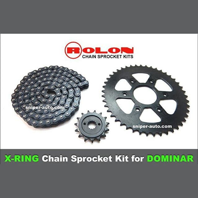 Rolon X-Ring Chain Sprocket Kit for Domi